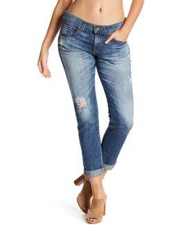 Billie Cropped Slim Boyfriend Jeans