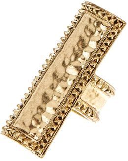 Studded Bar Ring - Size 5