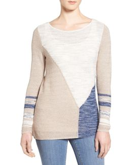 Patchwork Colorblock Sweater