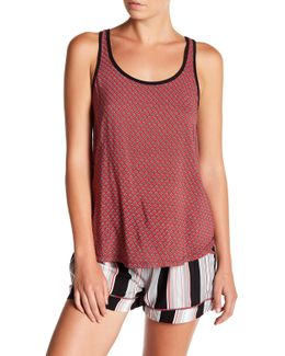 Front Print Tank Top