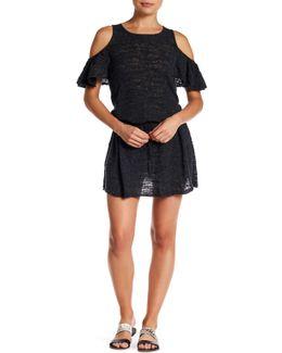 Ruffalo Linen-blend Knit Dress