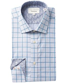 Redsing Check Trim Fit Dress Shirt