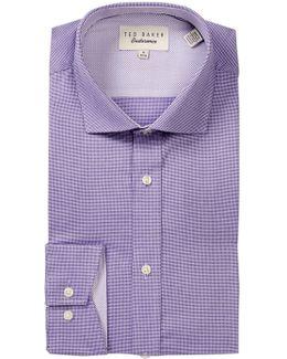 Dequan Geometric Trim Fit Dress Shirt