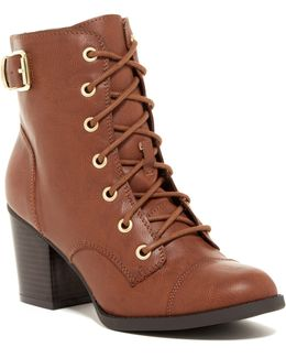 Justina Lace-up Boot