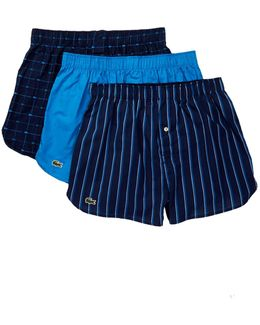 Woven Boxer - Pack Of 3
