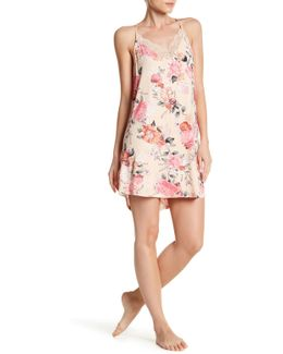 Rosy Outlook Lace Racerback Chemise