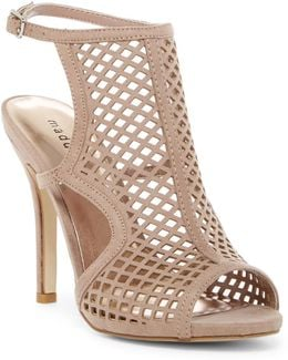 Regalll Lazer-cut Stiletto Pump