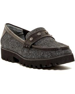 Regina Felted Platform Loafer