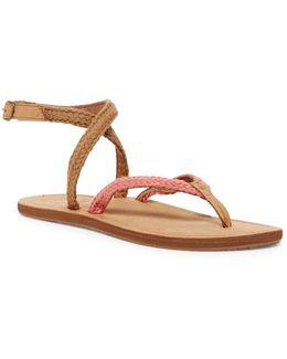Gypsy Wrap Blush Sandal (women)