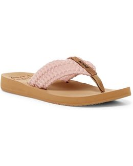 Cushion Threads Blush Flip Flop (women)