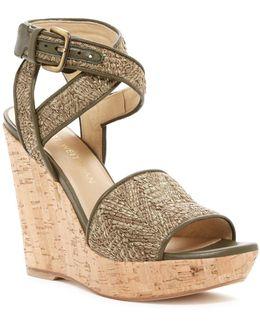 Rifraffia Platform Wedge Sandal