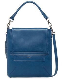 Riley Vegan Leather Hobo Bag