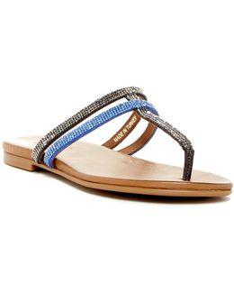 Bavette Embellished Flip Flop