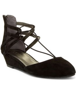 Why Not Wedge Lace Sandal