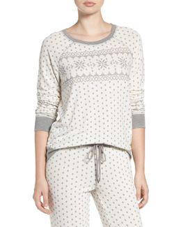 Crewneck Print Sweatshirt