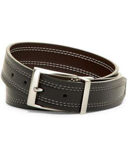 Reversible Double Stitch Belt