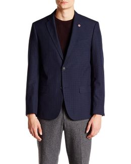 Hanwell Check Two Button Blazer