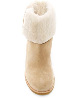 Faux Fur Lined Baja Boot