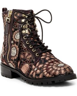 Tyrese Jacquard Boot