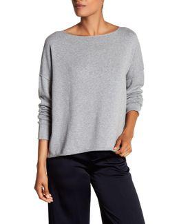 Boatneck Knit Sweater
