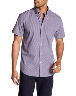 Checked Short Sleeve Regular Fit Shirt