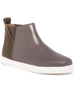 Sacha Snake-embossed Slip-on Sneaker