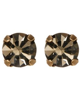 Kaylee Crystal Stone Stud Earrings
