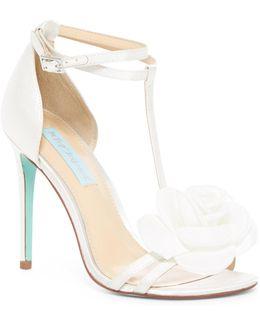 Emme Floral Ankle Strap Sandal