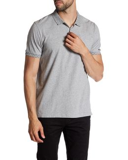 Placed Print Polo