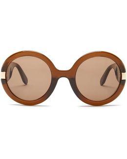 Women's Oversized Round Sunglasses