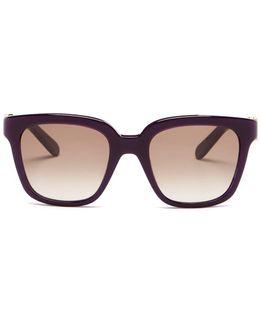 Women's Oversized Retro Sunglasses