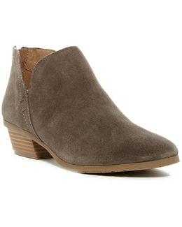 Side Way Ankle Bootie