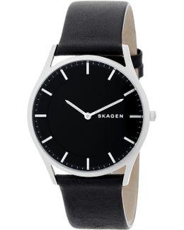 Men's Holst Leather Watch