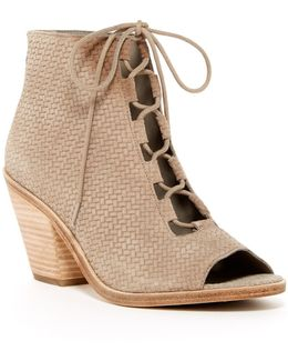 Slew Basket Weave Ankle Boot