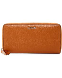 Joya Leather Zip-around Wallet