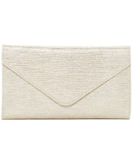 Cinnamon Leather Randy Checkbook Wallet