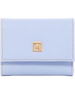 Leather Midi Wallet