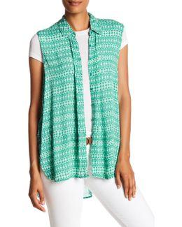 Block Print Sleeveless Tunic