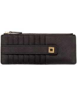 Jacy Leather Card Stacker