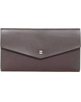 Blair Continental Leather Clutch
