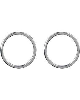 Small Circle Post Earrings