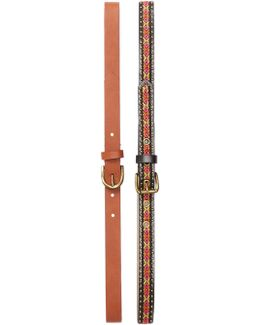 Thin Belt - Pack Of 2