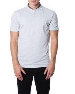 'prado' Short Sleeve Henley T-shirt