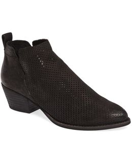 Sonya Perforated Split Shaft Bootie (women)