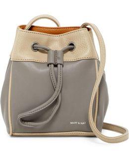 Sora Vegan Leather Bucket Bag