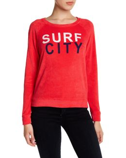 Surf City Terry Pullover