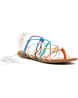 Starla Lace-up Sandal