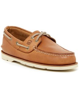 Leeward 2-eye Boat Shoe - Wide Width Available