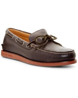 1-eye Wedge Boat Shoe