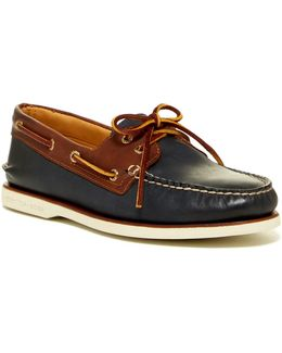 Gold Authentic Original 2-eye Catskill Boat Shoe